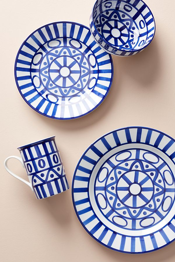 Slide View: 2: Dansk Arabesque Dinner Plate