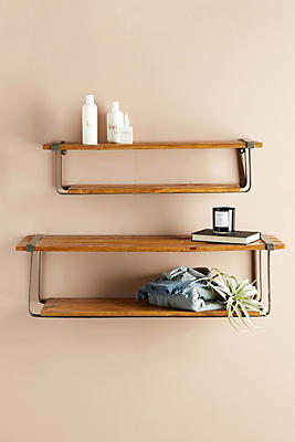 Slide View: 1: Farmhouse Shelf Set