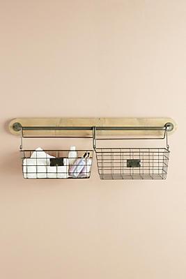 Slide View: 1: Hadley Basket Shelf