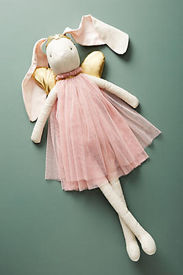 Slide View: 1: Winged Bunny Doll