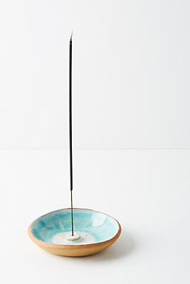 Slide View: 1: Turquoise Ring Incense Holder