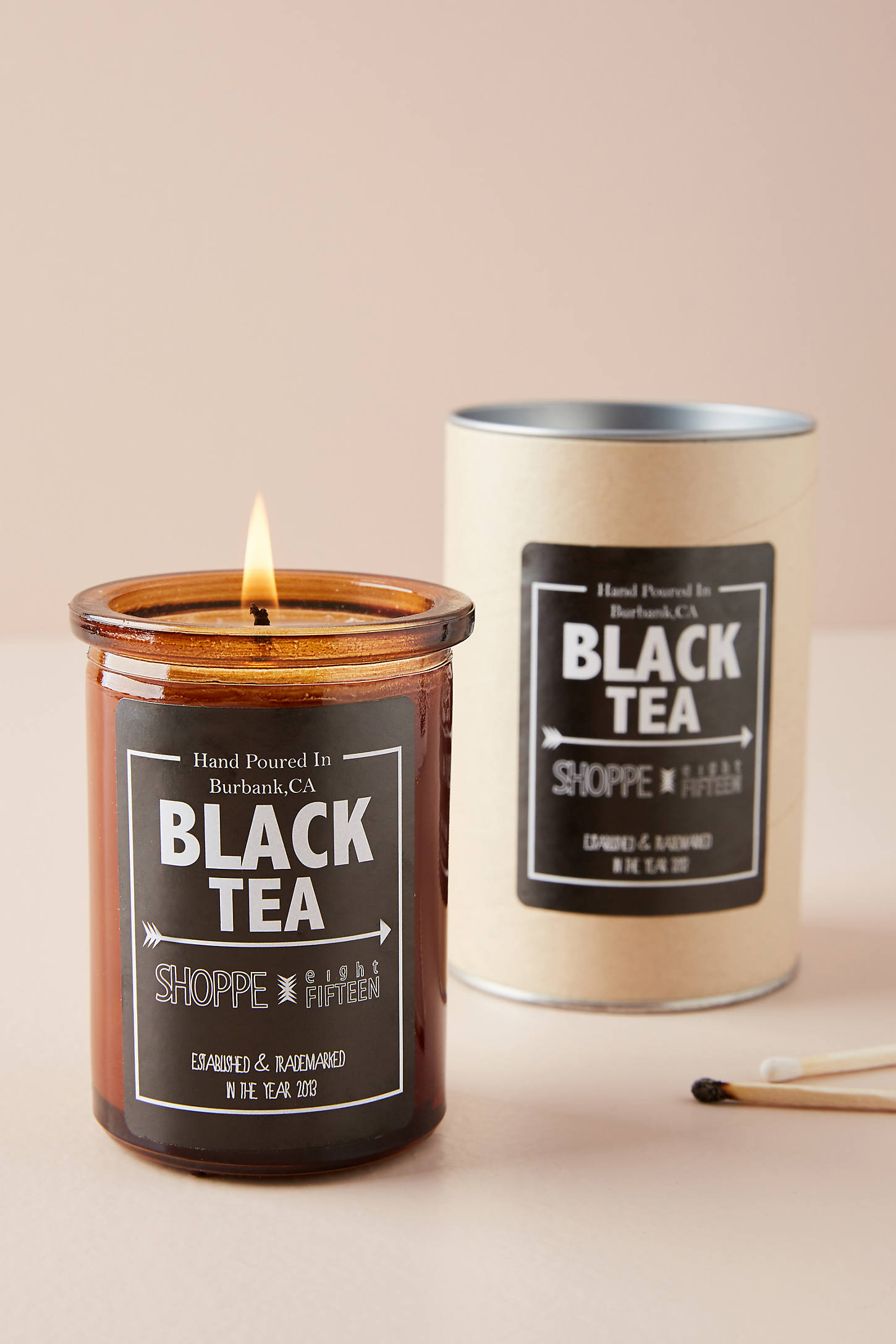 Shoppe 815 Amber Candle