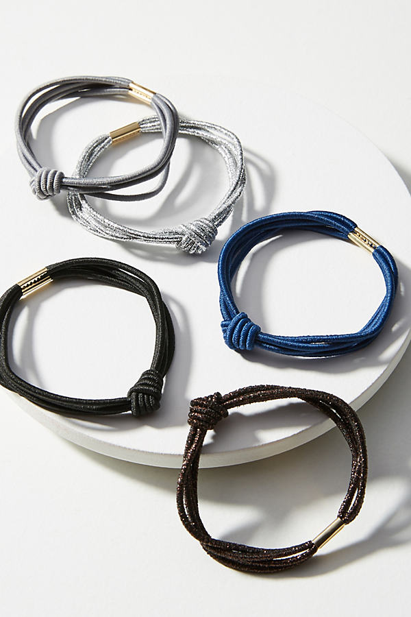 Orlena Hair Tie Set - Black