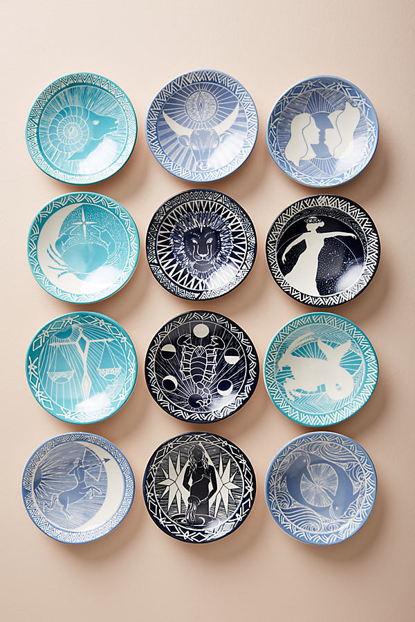 Zodiac Trinket Dish - Assorted, Size 8