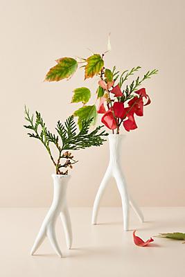 Slide View: 1: Antler Vase