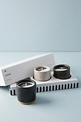 Slide View: 1: Norden Candle Gift Set