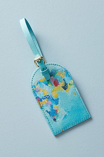 map maker luggage tag
