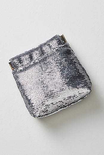 Jet Set Shimmered Pouch