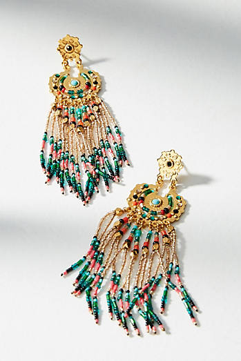 Maricopa Beaded Drop Earrings