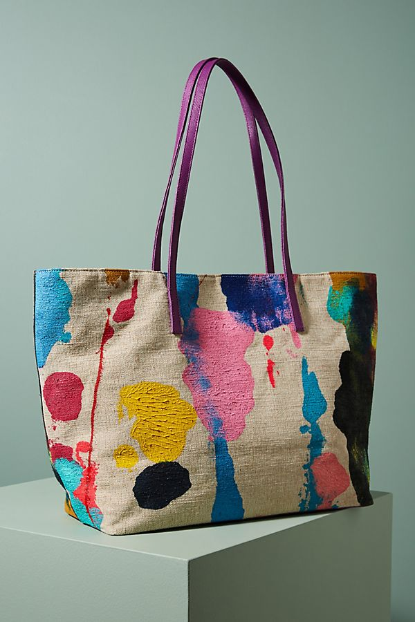 Abstract Painted Tote Bag