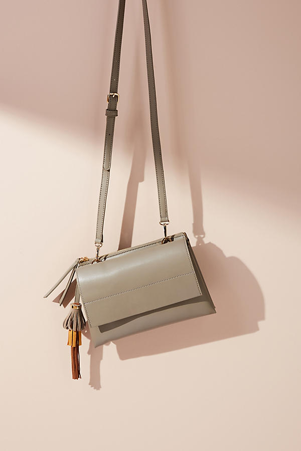Slide View: 1: Shiraleah Tate Crossbody Bag