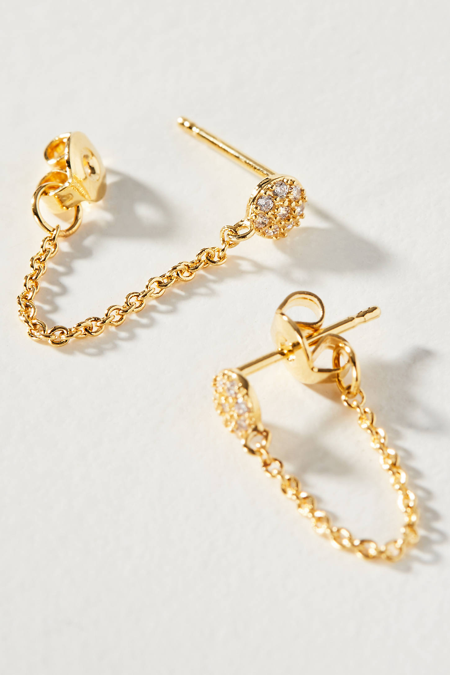 Jackie Chained Post Earrings