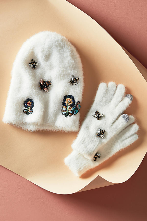 Slide View: 6: Well-Embellished Beanie