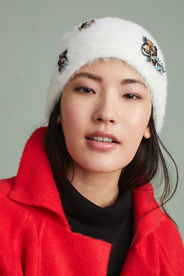 Slide View: 2: Well-Embellished Beanie