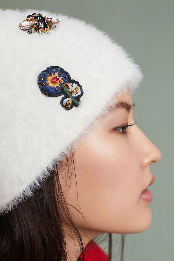 Slide View: 3: Well-Embellished Beanie
