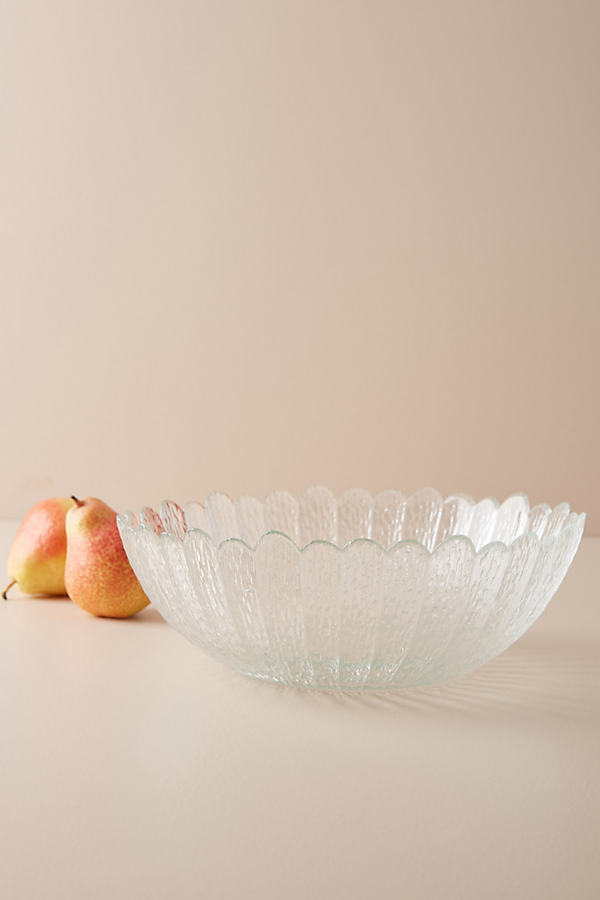 Avrile Serving Bowl - Clear, Size Pasta