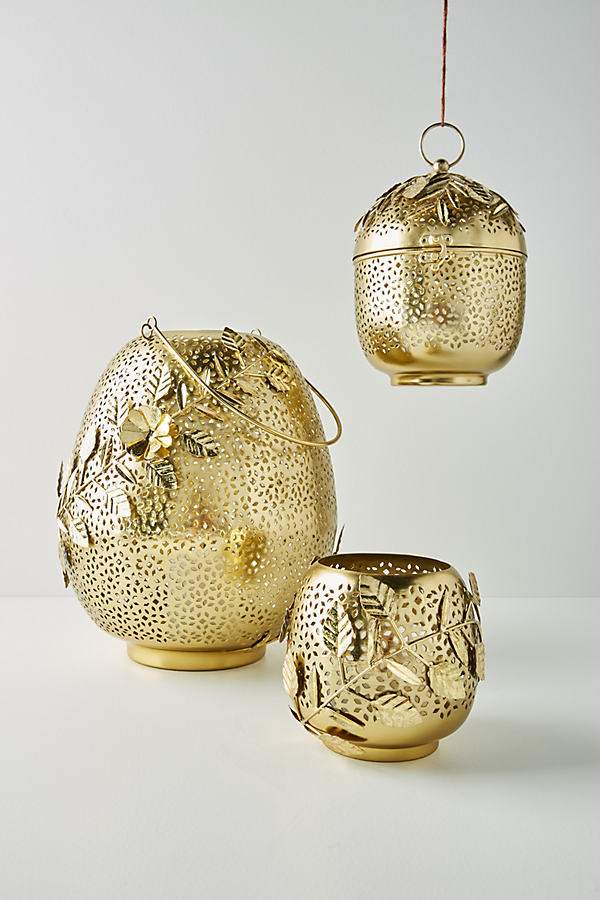 Kew Lantern - Gold, Size S