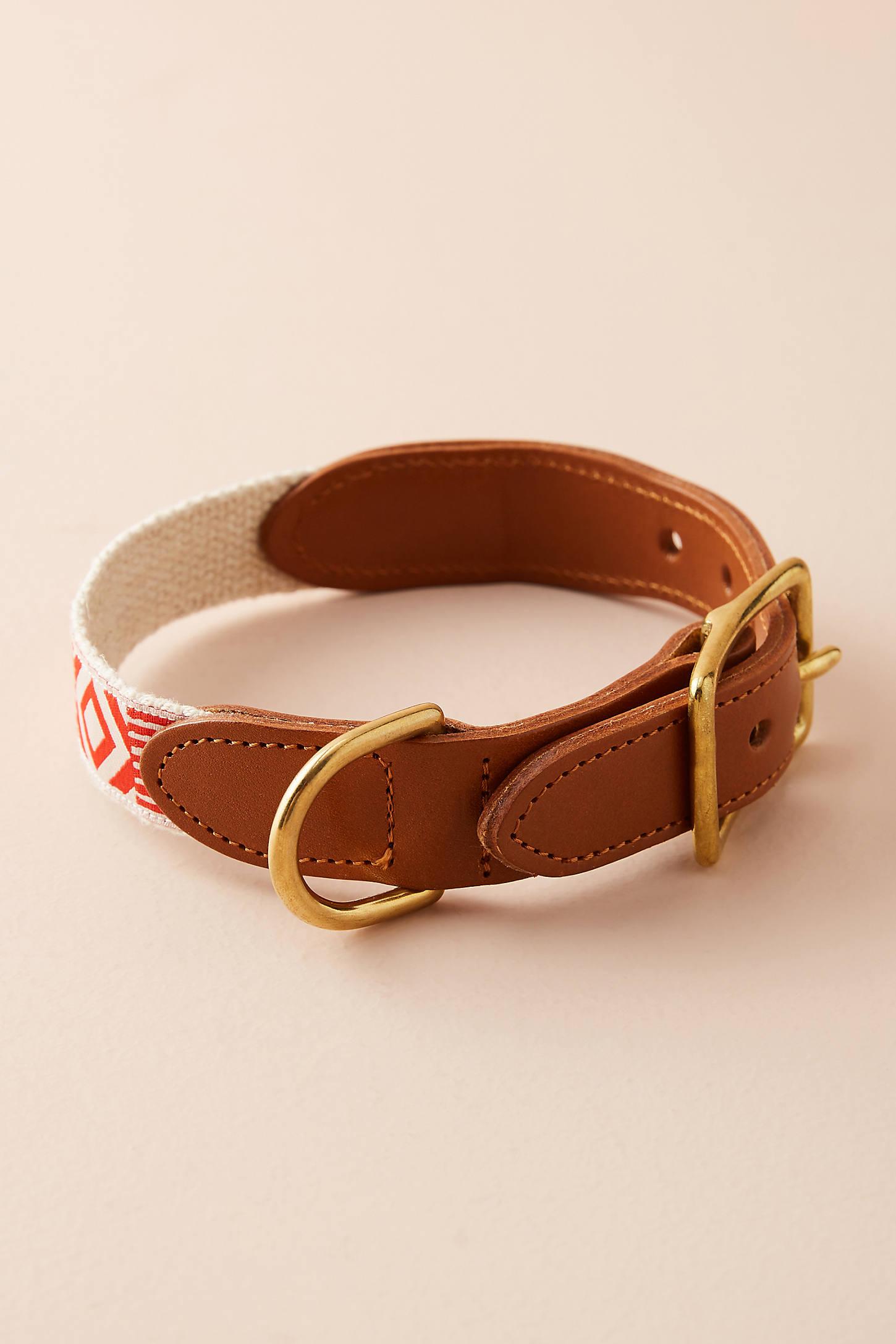 Leather & Hemp Collar