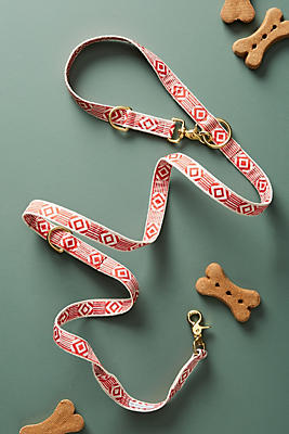 Slide View: 1: Ribboned Hemp Leash