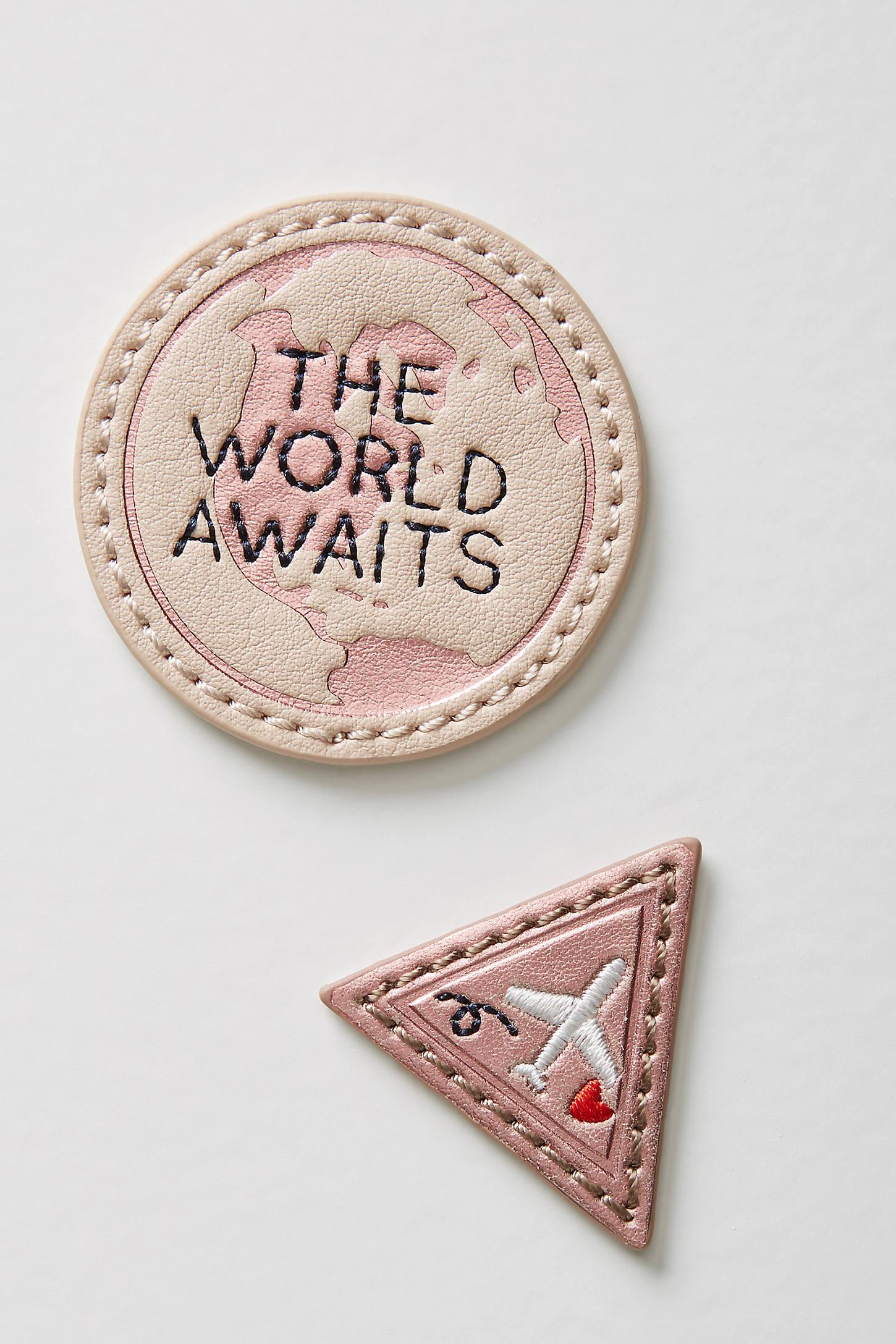 World Traveler Sticker Patch