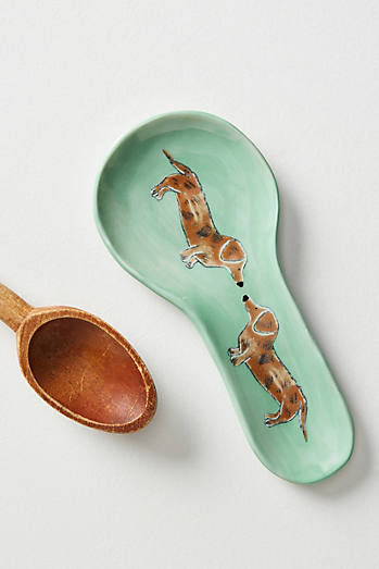 Painted Pup Spoon Rest