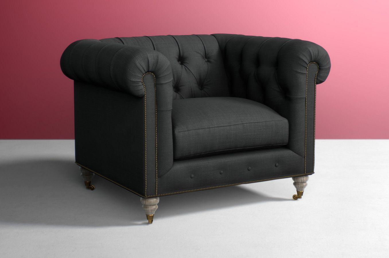 leather watch chair sofa chesterfield
