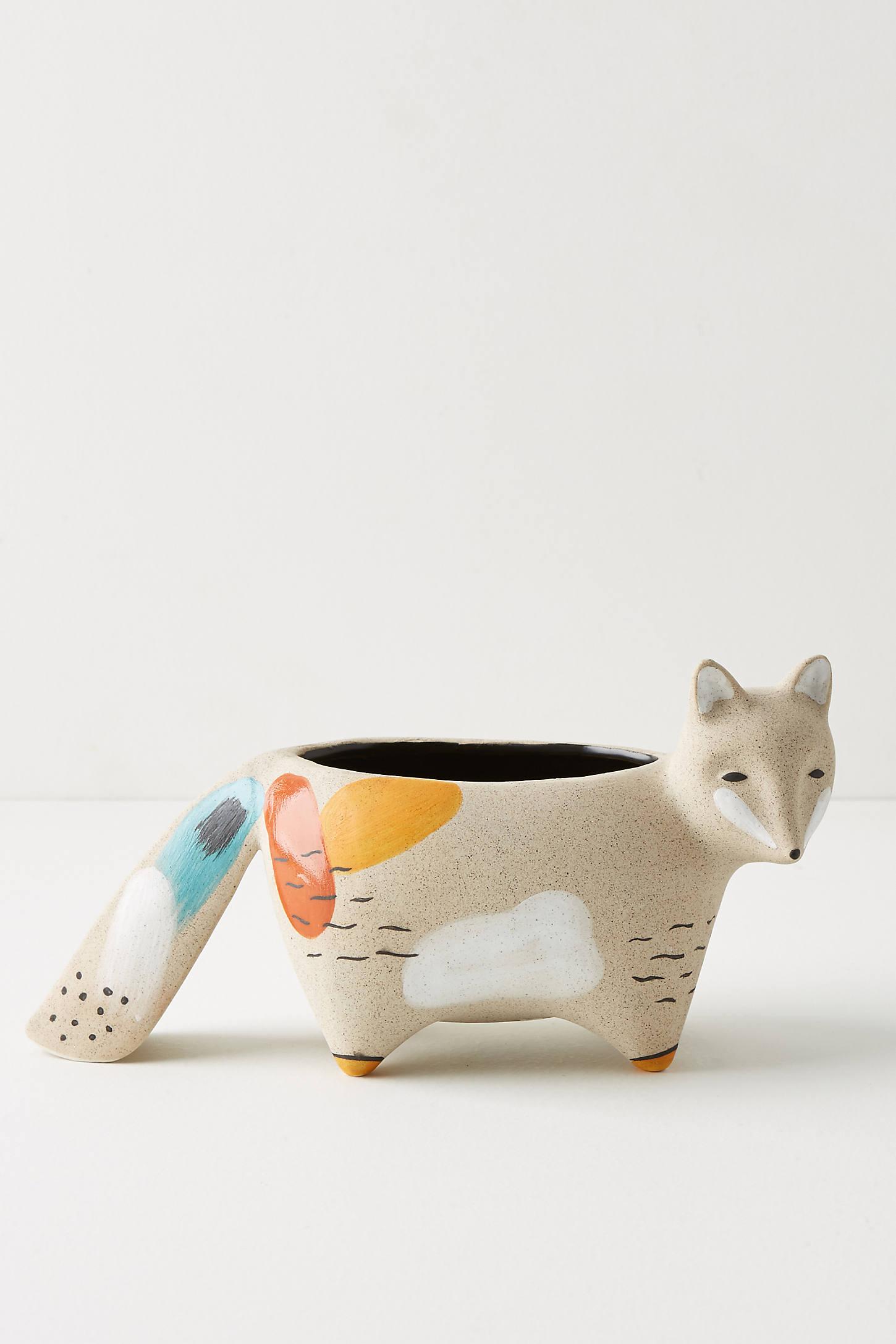 Woodland Animal Pot