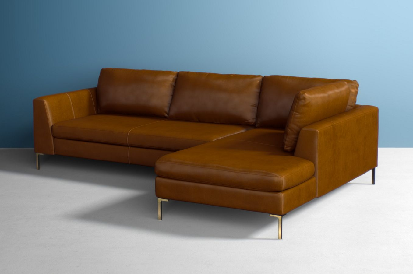 Edlyn two piece chaise sectional
