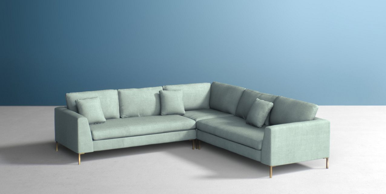 Edlyn Three Piece L Shaped Sectional