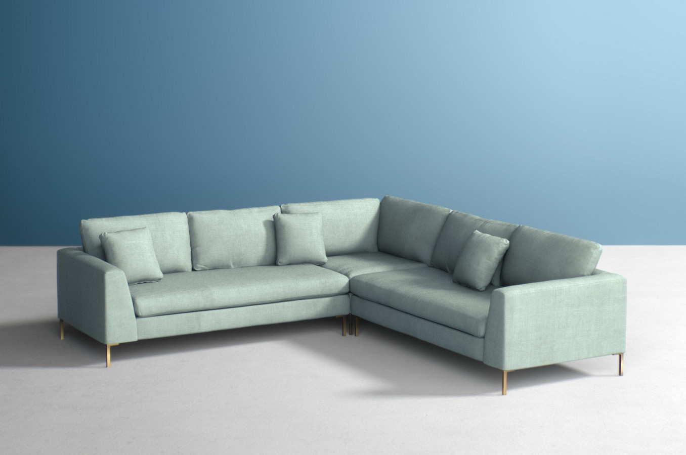 Edlyn Three-Piece L-Shaped Sectional
