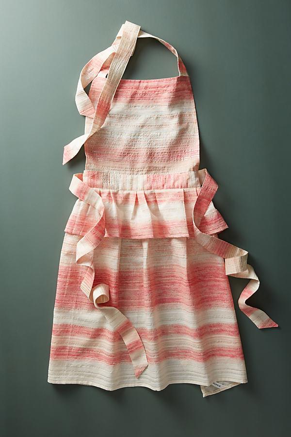 Hila Skirted Peplum Apron - Medium Pink, Size Adult