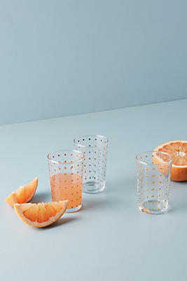 Slide View: 2: Dotted Juice Glass