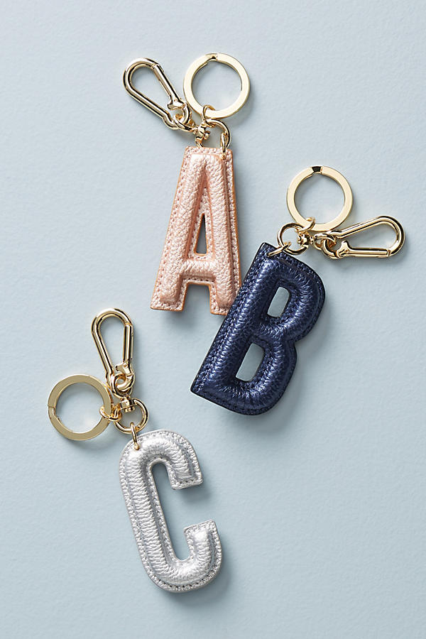 Pretty monogram keychains