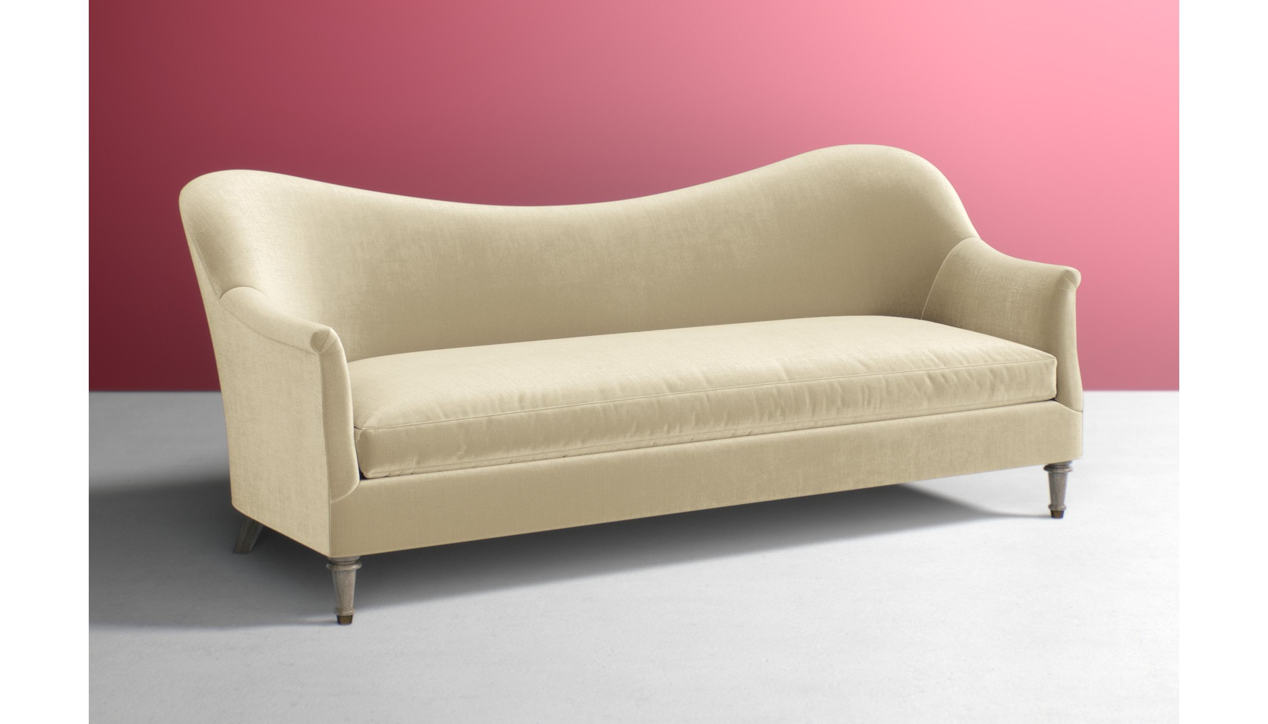 Pied A Terre Sofa Anthropologie The Olive House Sofabed Fabric Lux Grey