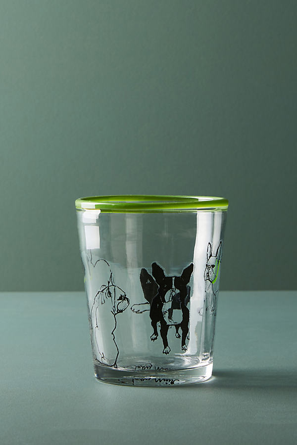 Dog-a-Day Juice Glass - Lime, Size Juice
