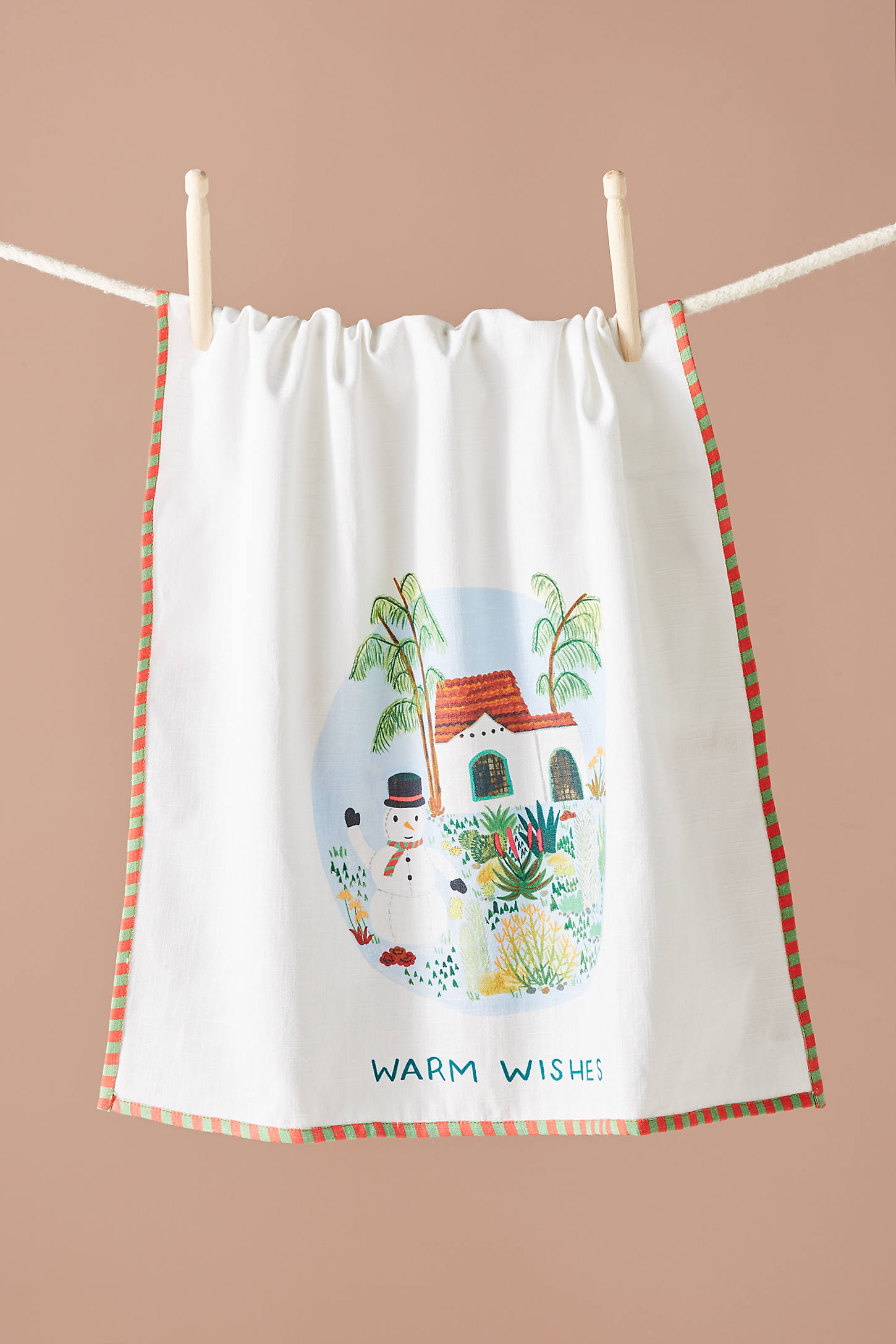 Warm Wishes Dish Towel