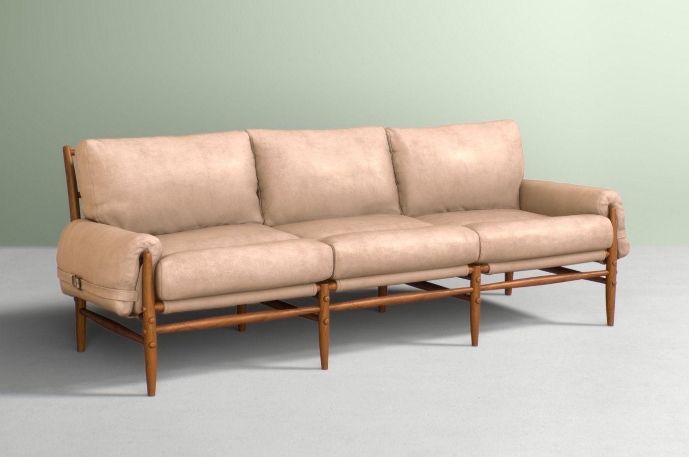 Rhys Three Cushion Sofa
