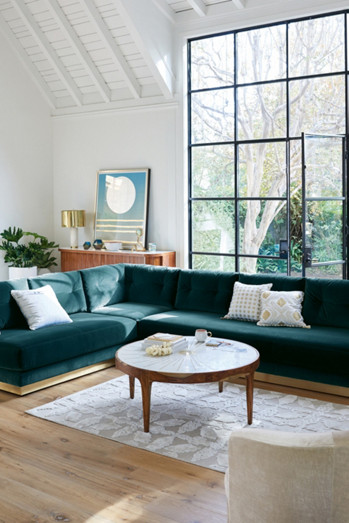 Living The Anthropologie Way Of Life Living Rooms: Shop Unique Living Room Furniture