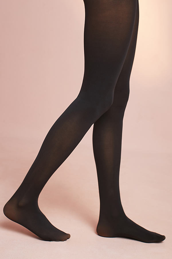 Opaque Essential Tights - Black, Size S/m