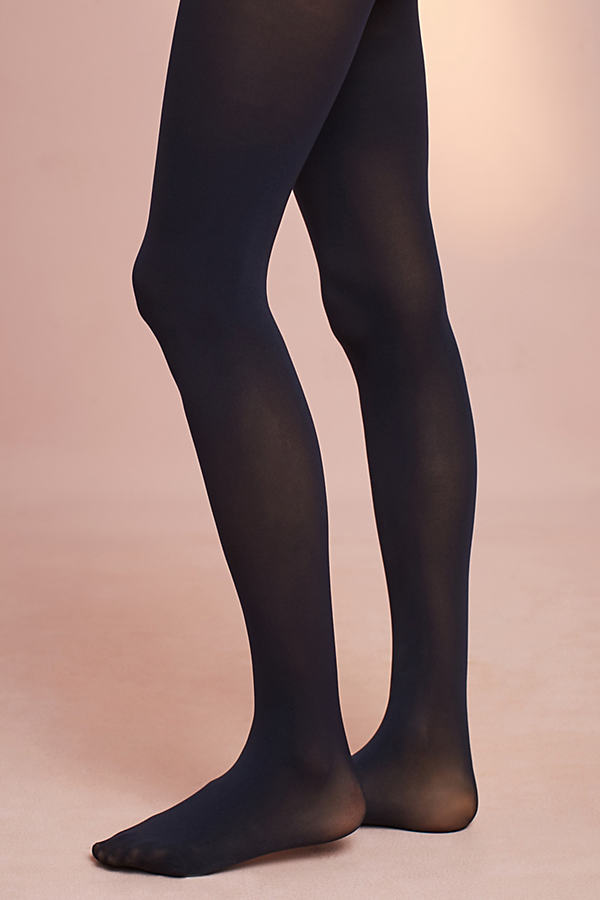Opaque Essential Tights - Navy, Size S/m