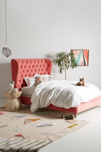 Custom Beds, Bed Frames & Upholstered Headboards | Anthropologie