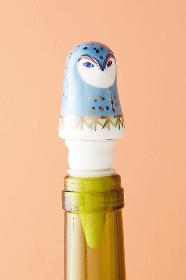 Forest Dweller Bottle Stopper - Sky, Size Bottle Sto