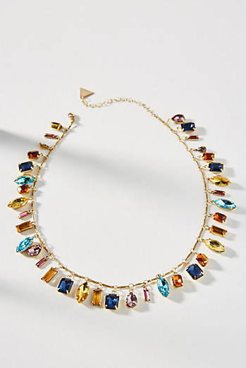 Candy Charm Bib Necklace