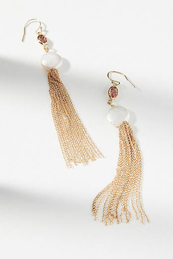 Avery Fringed Drop Earrings