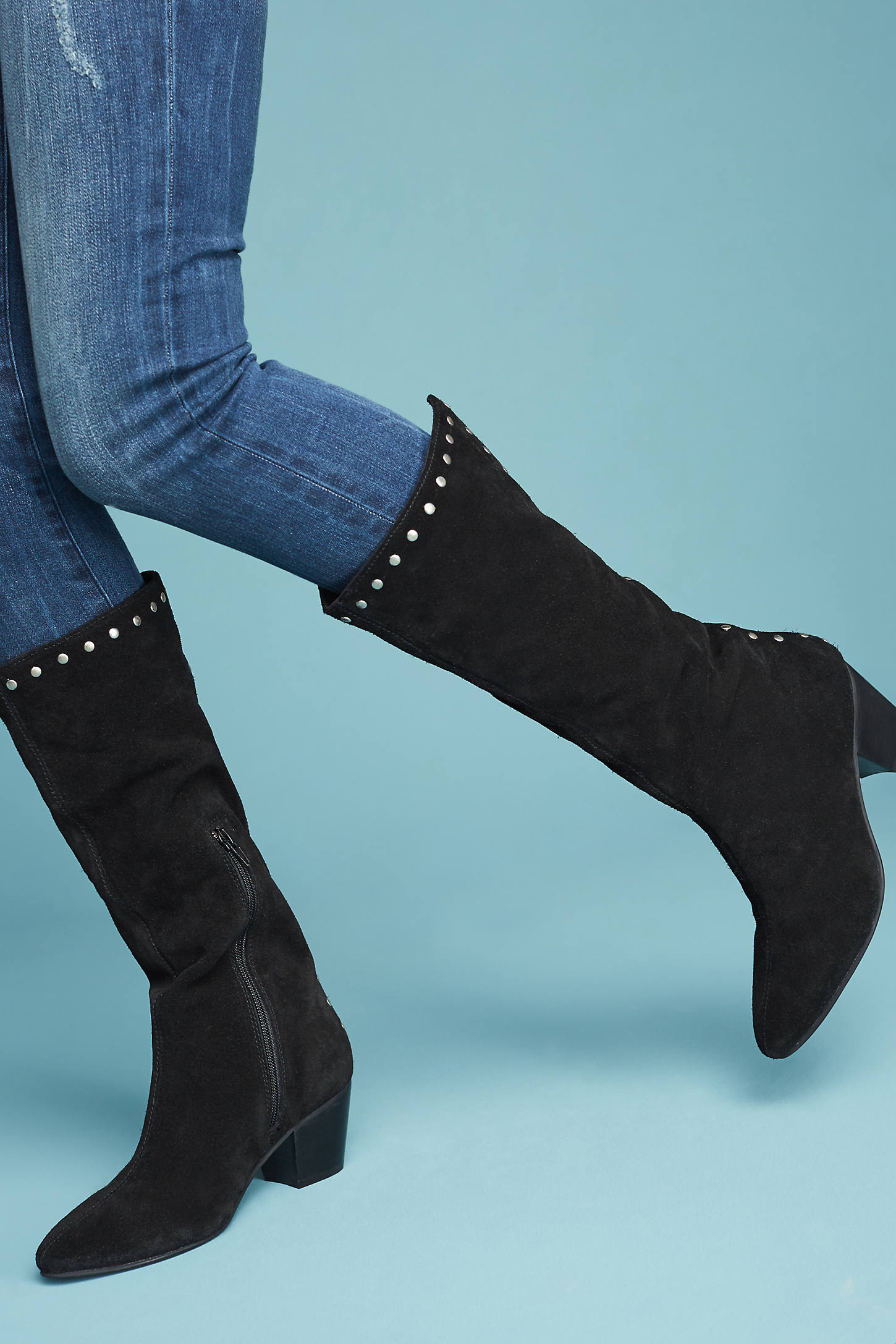 Matisse Ornate Studded Boots