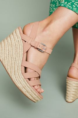 Splendid   Splendid Billie Espadrille Wedge Sandals  -    ROSE