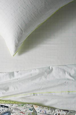 Slide View: 1: Patterned Cotton Twin Sheet Set