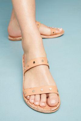 beek   Beek Woodpecker Slide Sandals  -    TAUPE