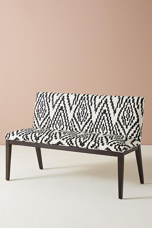 Slide View: 2: Maura-Printed Emrys Bench