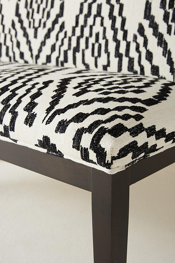 Slide View: 3: Maura-Printed Emrys Bench
